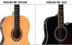 Diferença Entre Violão de Nylon e Violão de Aço