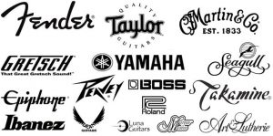 marcas de violão tocando com estilo